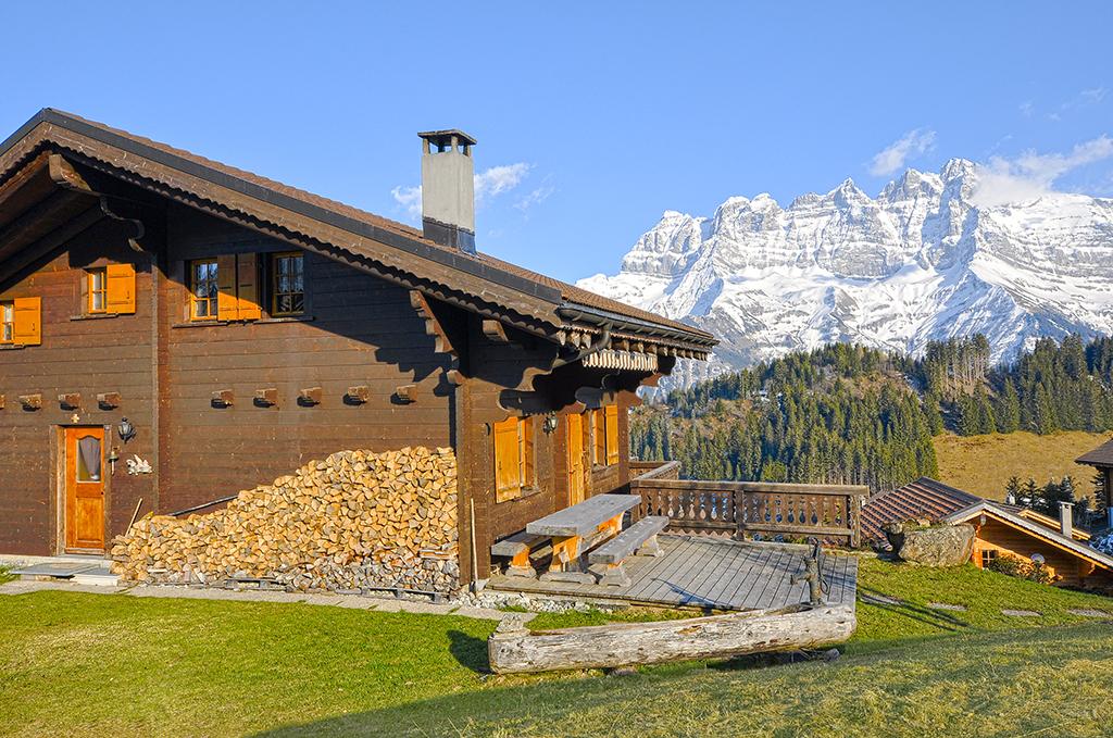 Ferienhaus Chalet 4-8 Pers. (1572366), Champoussin, Val d'Illiez, Wallis, Schweiz, Bild 12