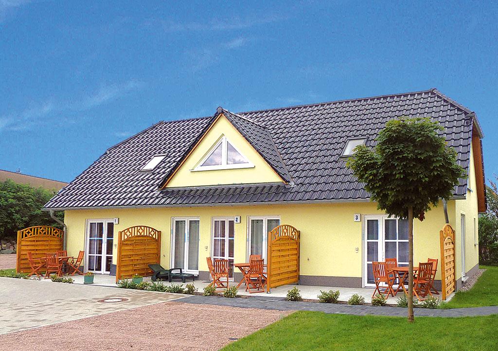 Haushälfte 2-4 Pers. Ferienhaus auf Usedom