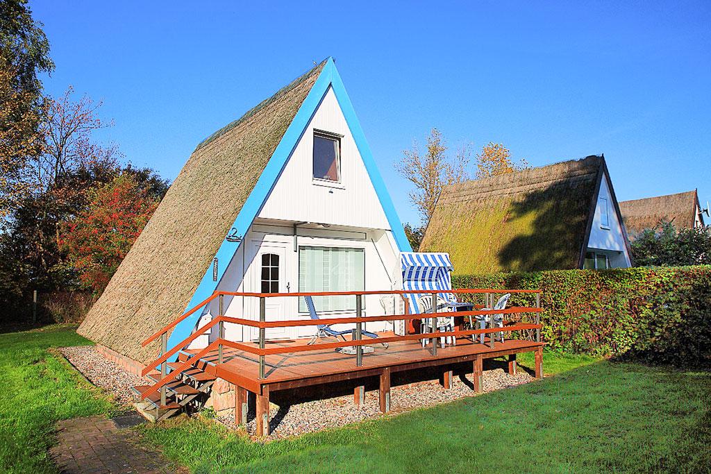 Ferienhaus Finnhütte 2-5 Pers. (146996), Gager, Rügen, Mecklenburg-Vorpommern, Deutschland, Bild 1