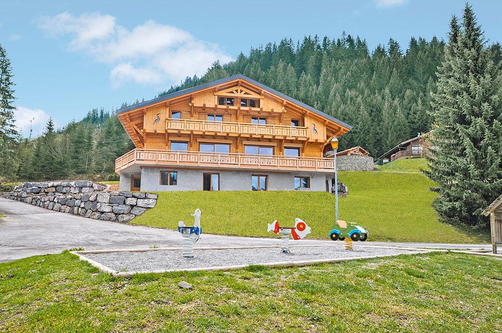 Chalet 6-14 Pers. Ferienhaus in Frankreich