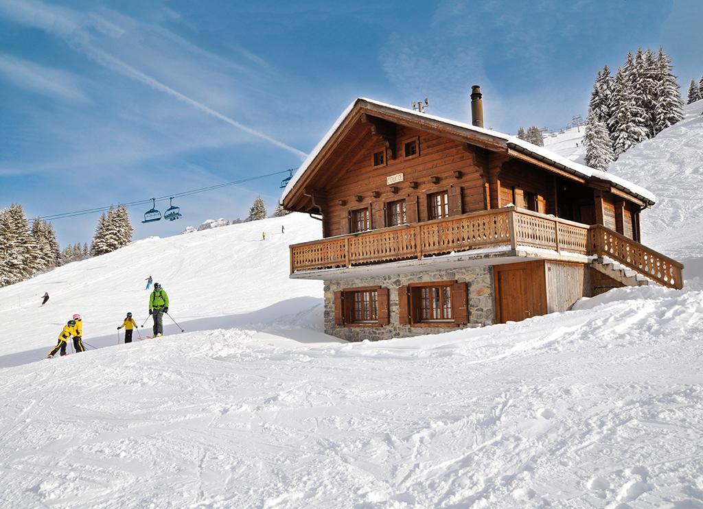 Ferienhaus Skihütte 4-8 Pers. (834947), Les Crosets, Val d'Illiez, Wallis, Schweiz, Bild 13